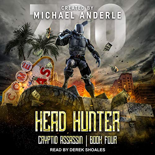 Head Hunter audiobook cover art