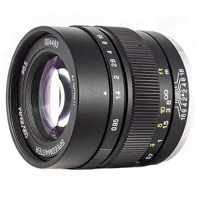 Mitakon Speedmaster 35mm f/0.95 Mark II Lens for Fuji X Mirrorless Cameras - Black from Mitakon