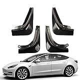 , Für Auto Carbon Kotflügel Schmutzfänger, Für Tesla Modell 3 2016 2017 2018 2019 2020 Heckkotflügel Auto Kotflügel Schneespritzschutz