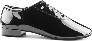 PortDance heren dansschoenen PD020 Premium - lak zwart - normale breedte - 2 cm standaard - Made in Portugal