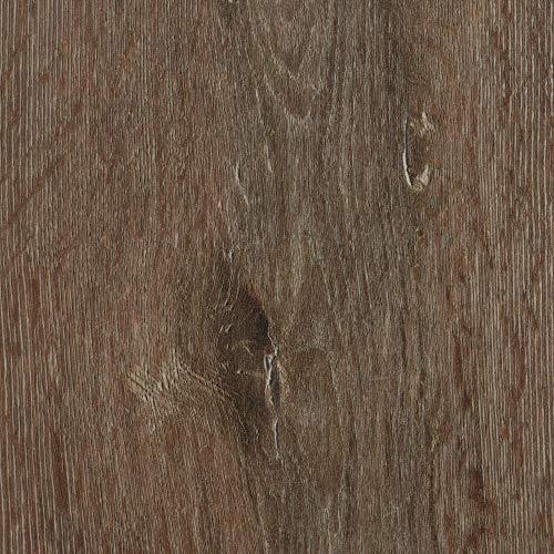 BODENMEISTER BM75001 Klick Laminat-Boden Holzoptik, Dielenoptik Eiche Dunkel-Braun, 1380 x 193 x 8 mm