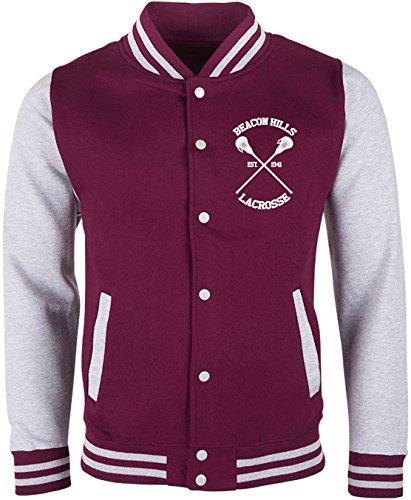 EZYshirt® Beacon Hills Lacrosse Teen Wolf Damen & Herren Team College Jacke