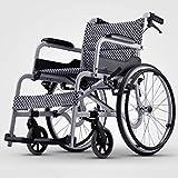 Leichtklappselbst Propel Rollstühle Tragbarer zusammenklappbarer Rollstuhl, Aluminiumlegierung...