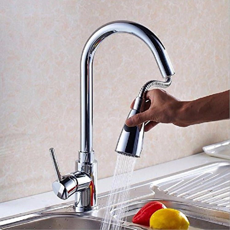 NewBorn Faucet Wasserhhne Warmes und Kaltes Wasser groe Qualitt Ziehen die Tap Kitchen Sink Dish Waschbecken Kaltes und Warmes Wasser Rotation Plating Tippen
