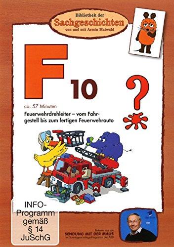 F10 - Feuerwehrdrehleiter (Bibliothek der Sachgeschichten)