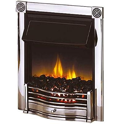 Dimplex Horton Chrome Inset Optiflame Plus Electric Fire