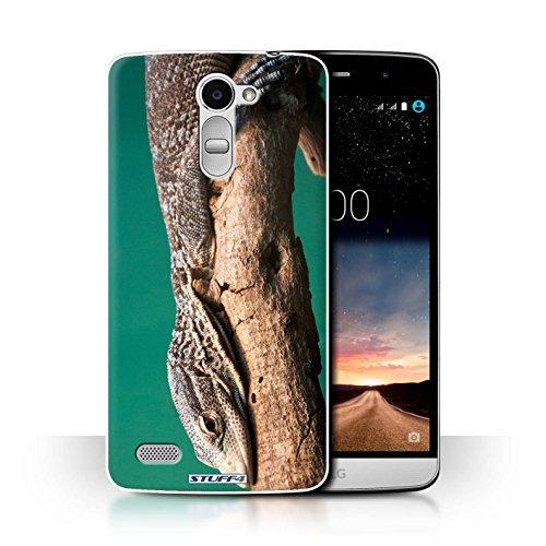 Hülle Für LG Ray/X190 Wilde Tiere Eidechse Design Transparent Ultra Dünn Klar Hart Schutz Handyhülle Hülle