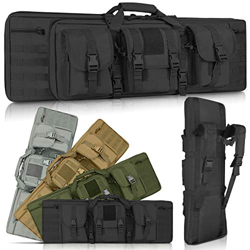 LUXHMOX Double Long Soft Rifle Case