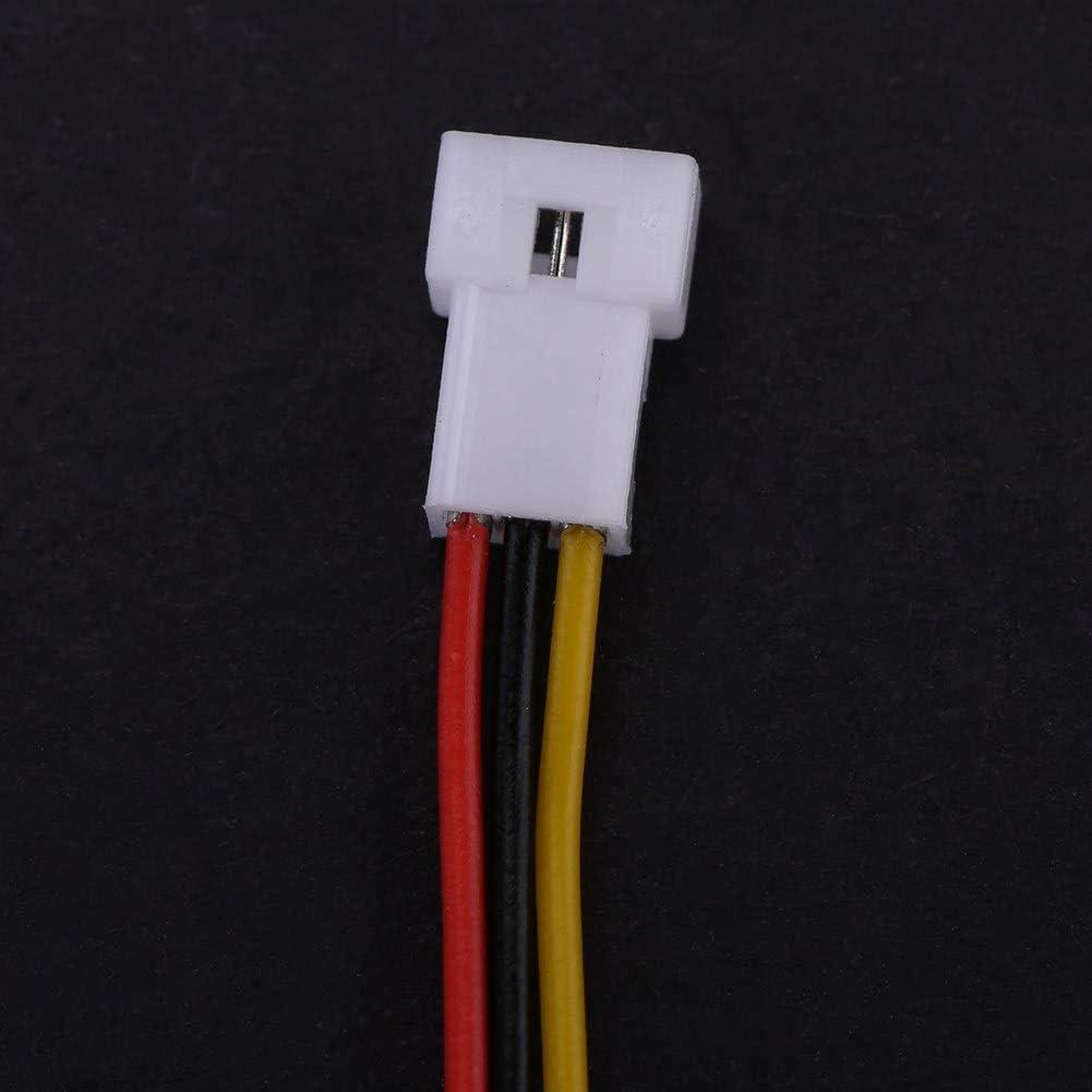 2 Pin Outbit Connettori angolari 20 Set//Confezione Micro JST 1.25MM Connettore Maschio e Femmina a 2 Pin//3 Pin con Cavi