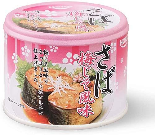 サバ缶 さば梅じそ風味缶 ×24個