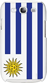 Cellet Uruguay Flag Proguard Case for Samsung Galaxy S III - White