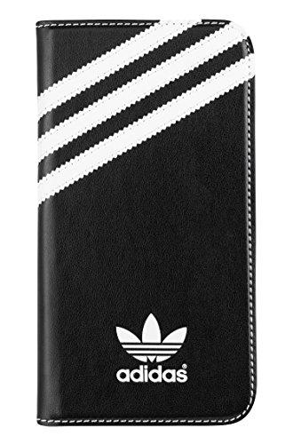 adidas Booklet–Funda Tipo Cartera para Samsung Galaxy S5–empaquetado al por Menor–Negro/Blanco
