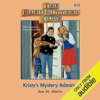 Kristy's Mystery Admirer audiobook cover art