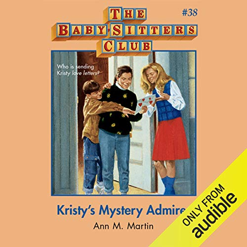 Kristy's Mystery Admirer cover art