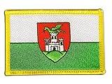 Aufnäher Patch Flagge Slowenien Ljubljana Laibach - 8 x 6 cm
