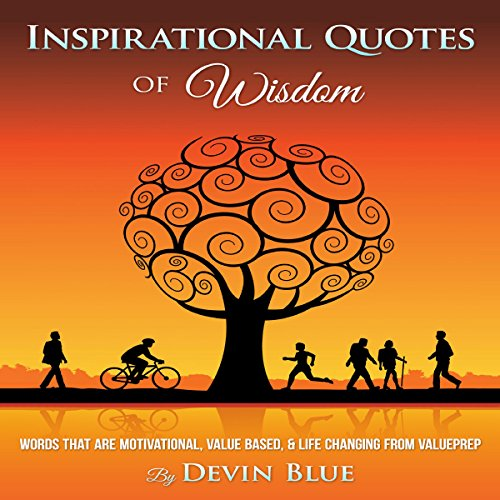 Inspirational Quotes of Wisdom audiobook cover art