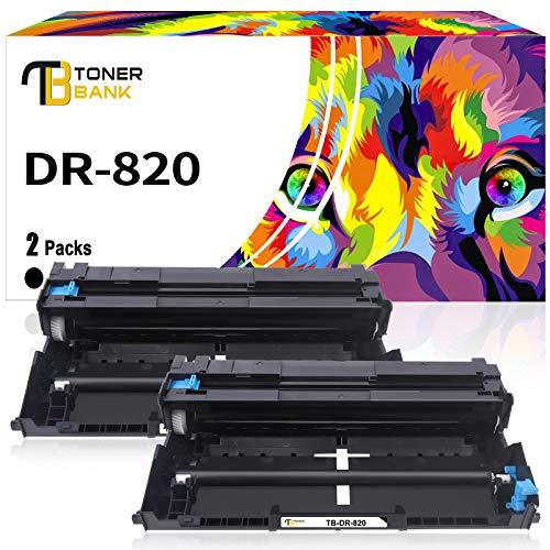 Toner Bank Compatible Drum Unit Replacement for Brother DR820 DR-820 DR 820 for Brother MFC-L5850DW HL-L6200DW HLL6200DW L6200DW MFC-L5900DW MFC-L5700DW HL-L5200DW L5200DWT HL-L6200DWT Drum Unit 2PK