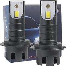 LED Headlight Bulb Conversion Kit H7,Fadyshow HID or Halogen Headlamp Replacement 6500K Xenon White,10000lm,Car Light Bulbs-Mini