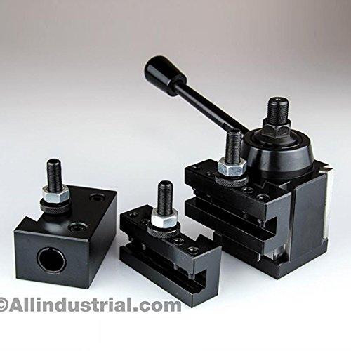 Check Out This 4 PC AXA WEDGE TOOL POST INTRO SET CNC TURNING,FACING, BORING LATHE HOLDERS