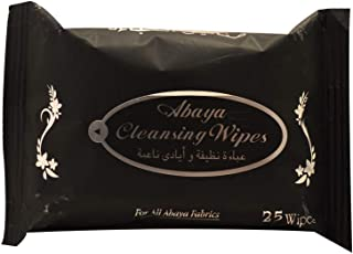 Cool & Cool Abaya Cleansing Wipes - 25 Pieces