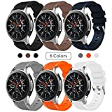 SUNDAREE Compatible avec Galaxy Watch 46MM Bracelet,22MM Bracelet de Montre Remplacement Bande de...