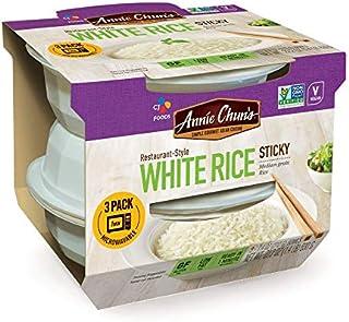 Annie Chun's - Rice Sticky White 3pk - Case of 3-22.2 Oz