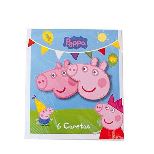 Peppa Pig - 6 caretas (Verbetena 016000733)