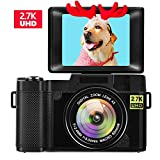 Best digital compact camera - Digital Camera Vlogging Camera for Youtube 2.7K UHD Review
