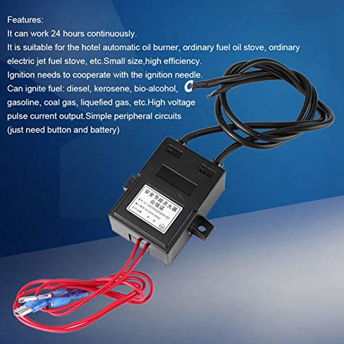 Chanmee Generador de Alto Voltaje, Encendedor de Alto Voltaje, ≥12kV 1A-2A para...