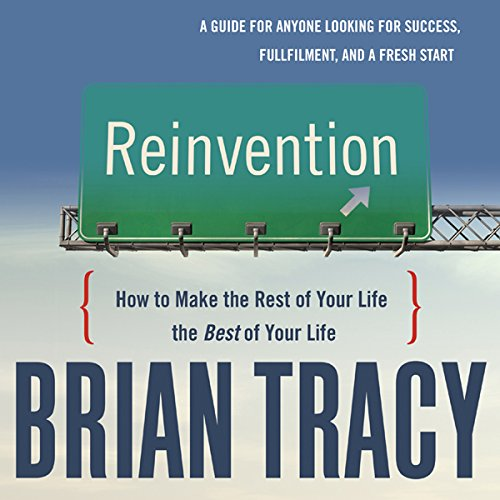Reinvention audiobook cover art