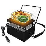 Portable Oven, 12V Car Food Warmer Portable Personal Mini Oven...