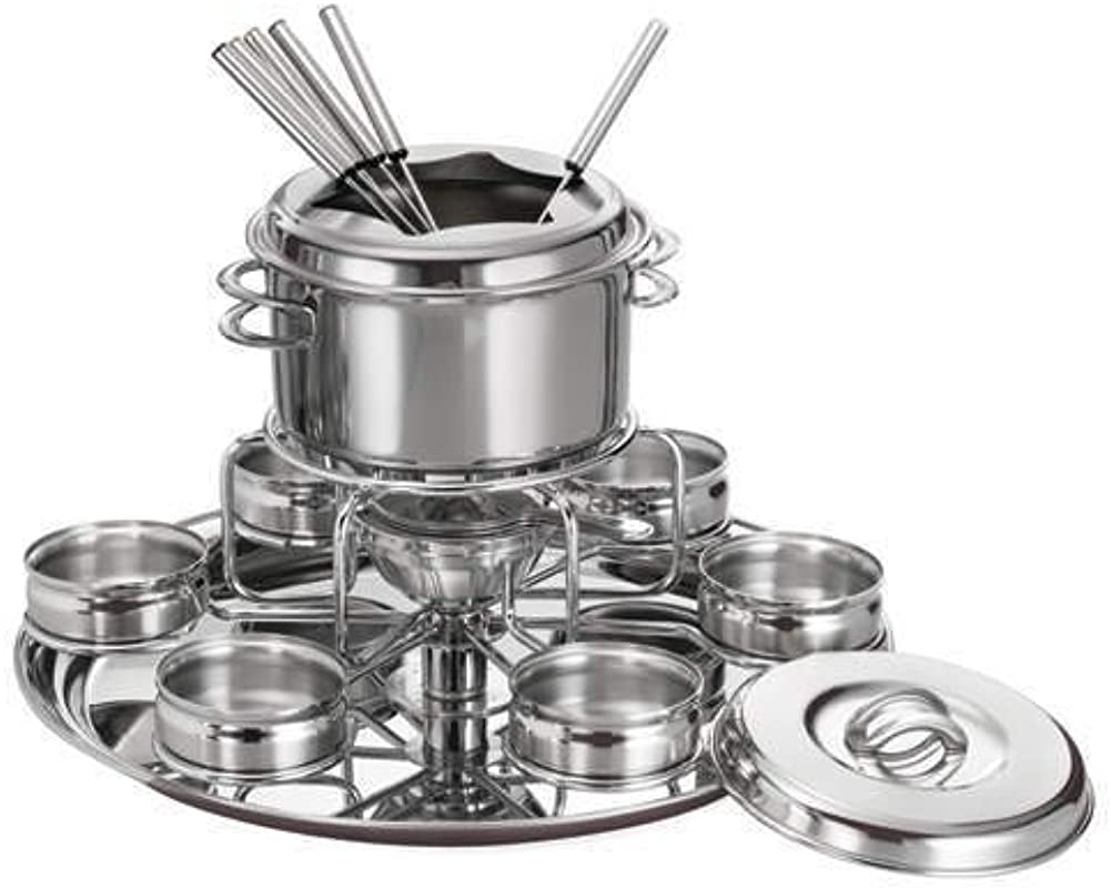 Tramontina Gourmet Collection Professional 16 Pc Stainless Steel Fondue Set
