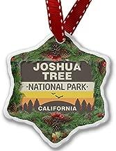 Enidgunter Christmas Decoration Ornament National Park Joshua Tree