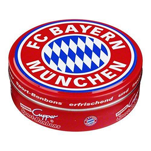 Sport Bonbon FC Bayern MÜNCHEN Munich - 60 g mit Kirsch u. Eisbonbongeschmack FCB