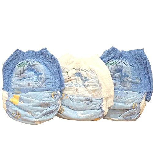 Schwimmwindel Schwimmhöschen Badewindeln Baby Einweg Schwimmwindeln Junge Mädchen HilKeys12-48 Stück (XL (11-16kg), 24 Stück)