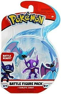 PKMN Sableye and Zubat Pokemon Battle Action Figure