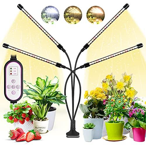 WOLEZEK Plant Light, Grow Lights for Indoor Plants, 80 LEDs Led Grow Light...