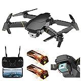 Yxs 4k Pliable Drone, WiFi FPV RC Quadcopter avec 4k caméra vidéo en Direct pour Les débutants Pliable Drone - Altitude Attente Headless Mode Une clé/atterrissage