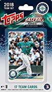 This is a 2018 Topps Seattle Mariners Factory sealed special edition 17 card team set; cards are numbered SM-1 through SM-17 and are not available in packs. Players included are Robinson Cano, Taylor Motter, Jean Segura, Dee Gordon, Daniel Vogelbach,...