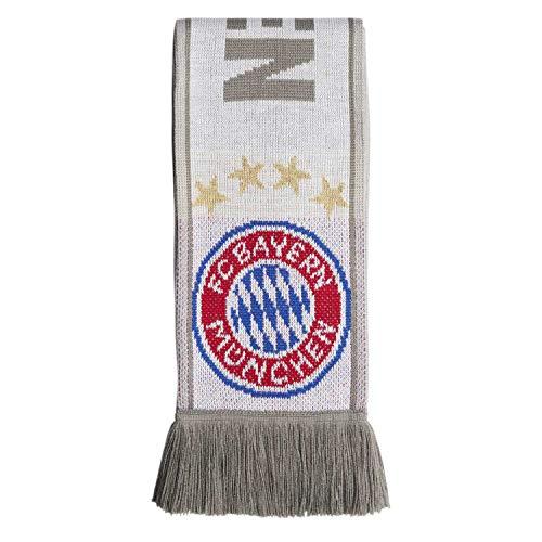 adidas FC Bayern München Fanschal FCB SCARF 2019/20 white/lgh solid grey/ash One size