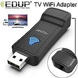 EDUP EP-2911S Adaptateur réseau WiFi à RJ45 répéteur 300Mbps sans Fil 2.4GHz pour téléviseur, boîtier décodeur, PS4, Xbox, imprimante, projecteur
