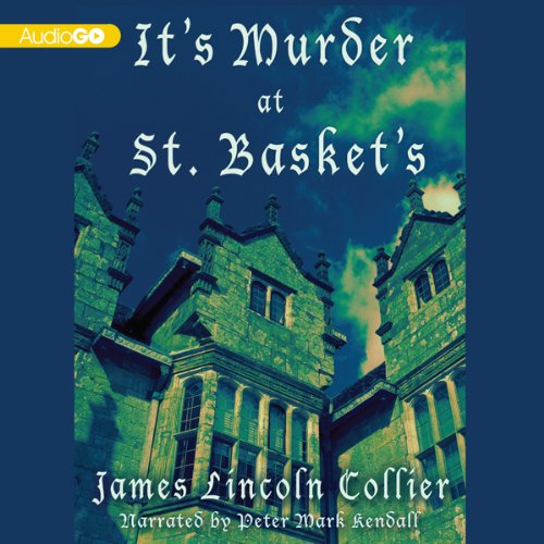 It's Murder at St. Basket's audiobook cover art