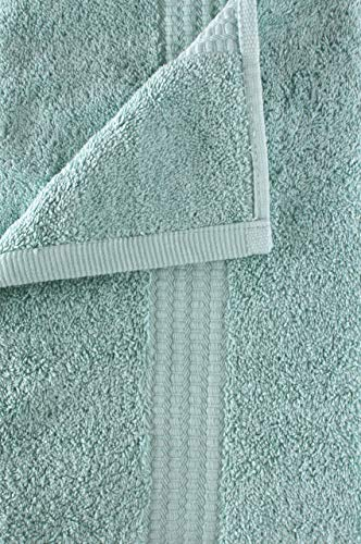 PimpamTex – Toalla Premium extra grande de baño 100% Algodón 100x150 cm – (Verde)