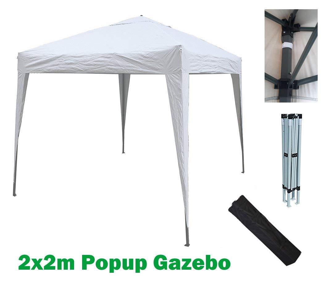 MCC@Home - Toldo Impermeable de 2 x 2 m para jardín (NS) (Blanco): Amazon.es: Jardín
