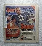 Donovan McNabb & Andy Reid (Philadelphia Eagles) - Super Success - Sports Weekly Magazine - December 25, 2002