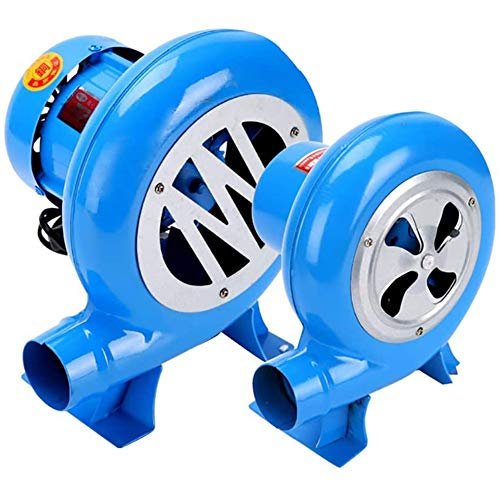Soplador de aire eléctrico centrífugo Soplador de engranajes de hierro de forja manual, ventilador de bomba, soplador de aire para barbacoa, para combustión de barbacoa, soplador doméstico pequeño