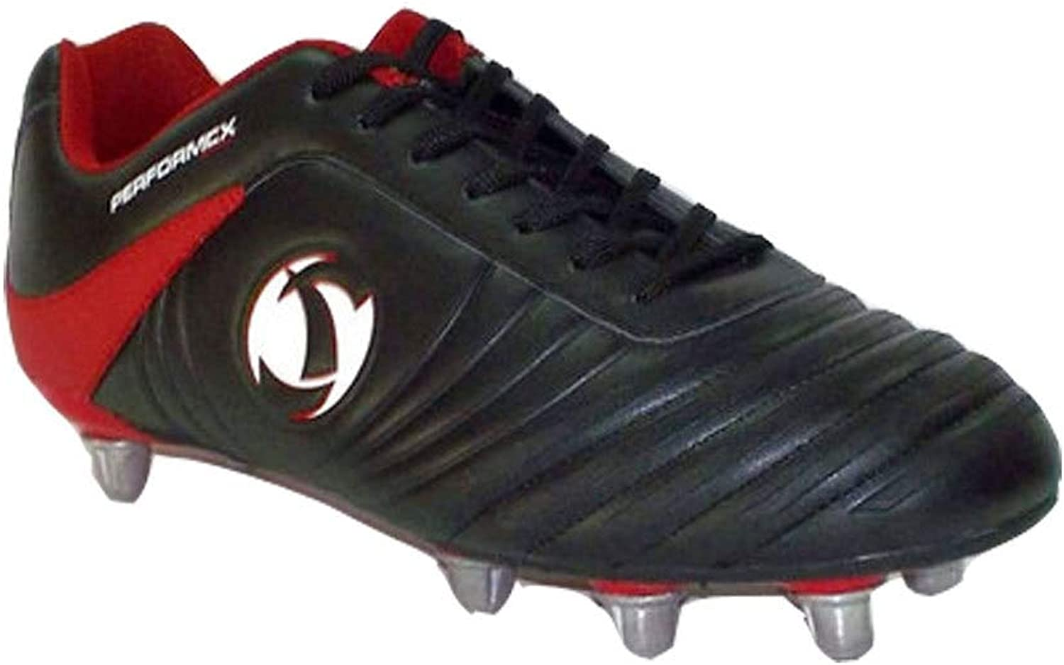 Samurai Katana Mid HT Rugby Boots Junior [black red]
