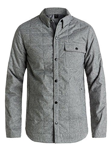 Quiksilver Mens Agent Jacket Quiet Shade Jacket Size