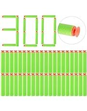 YaYashow 100 stuks zuignap pijlen, zuignap darts navulverpakking voor Nerf N-Strike Elite Series Blasters