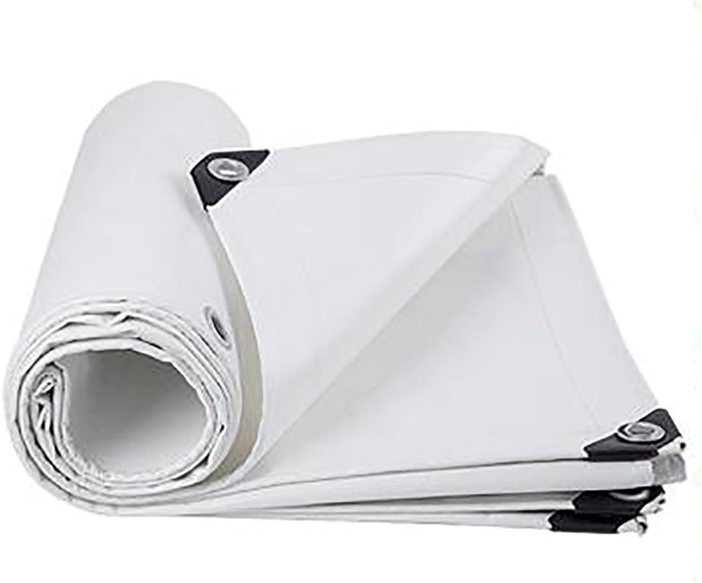 Zeltplanen Weie Wasserdichte Tuch-Plane-Plane-regendichte Stoff-Isolierung Im Freien Verdicken Polyester-Linoleum-Plane